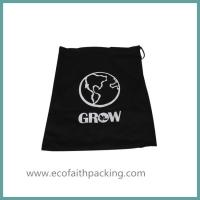 Quality shoes bag with cotton fabric, shoes drawstring bag, shoes canvas bag for sale