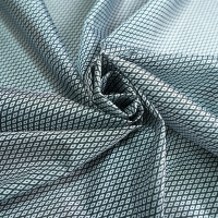 Quality Dark 230cm Striped Jacquard Fabric / Tricot Warp Knit Fabric for bedding for sale