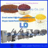 Quality Artificial Rice Extruder Machine/Artifical nutritional rice machinery for sale