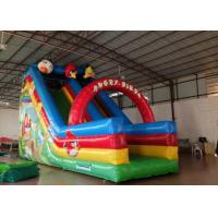 Inflatable Angry Bird Toddler Water Slide , Attractive Jumping Castle Water Slide