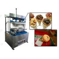 Buy Electric Mode Snacks Making Machine / Cone Pizza Forming And Pizza Cone Making at wholesale prices
