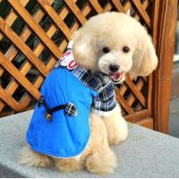 Quality Personalized Europe style Blue Cotton Dog Costume Coat For Large Dogs For PET Warmly / Autumn clothes for sale