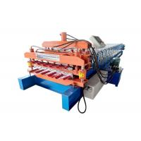 Quality Hydraulic Auto Color Steel Roll Forming Machine , Roof Panel Roll Forming Machine for sale
