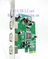 Quality PCI Express USB 2.0 Card for sale