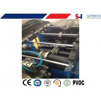 Quality CNC Shelving / storage rack Sheet Metal Roll Forming Machines With Anti Rust Roller for sale