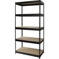 Quality Durable Home Wire Shelving , Boltness Wire Pantry Shelving With Wooden Shelves for sale