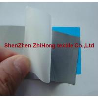Quality Hi-vis PET glass bead heat transfer reflective material film for sale