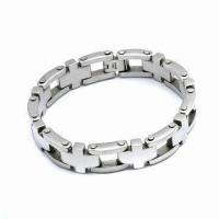 Quality 316L Stainless Steel Bracelet, Customized Designs Welcomed for sale