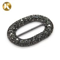 Quality Crystal Metal Pin Shoes Decoration Accessories 45mm*33mm Fashion Style for sale