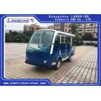 Buy Multi - Purpose Electric Sightseeing Bus 11 Seater with a Cargo Box Tourist Coach at wholesale prices