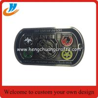 Quality Hot sell dog tag zinc alloy military challenge coin for souvenir for sale