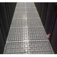 HPL / PVC Finish Perforated Raised Floor Tiles High Pressure Plywood Perfect Packing