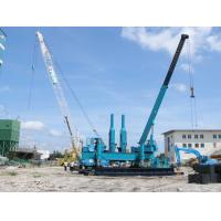 Quality Rotary Hydraulic Piling Machine , Precast Concrete Pile Pressing Machines for sale