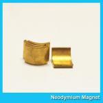Quality Arc Shaped Neodymium Motor Magnets N38H Grade Wind Generator NdFeb Magnet for sale