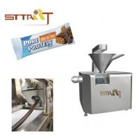 China Automatic Energy Bar Machine , Stainless Steel Candy Bar Making Machine on sale