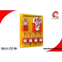 Quality High Quality Organic Glass 24 Tagout 20 Padlock Safety Lockout Stations for sale