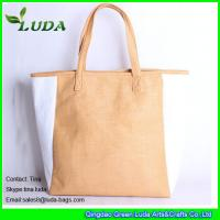 Quality striped paper straw bags lady oversized beach bags for sale