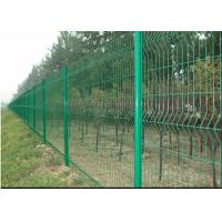 Quality Vandal Resistant Welded Mesh Fence Heavy Gauge Wire Mesh Powder Coating for sale
