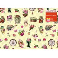 Quality Custom Printed Cute Gift Wrapping Paper Roll For Birthday / Holiday / Christmas for sale