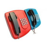 Quality Public Auto Dial Emergency Phone With Headset , Armoured Corded Wall Phone for sale