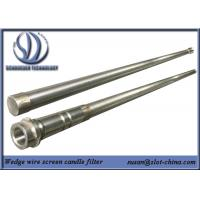 Quality Stainless Steel Slot Tube Slot Tube Candle Filter With End Fittings for sale