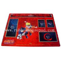 Quality PC Laptop Rubber Pad Mat Waterproof Card Game , heat resistance for sale