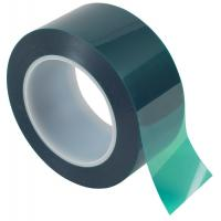 Quality 0.06mm/0.09mm High Temperature Mask PET Green Tape with Silicone Adhesive for sale