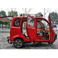 Quality Enclosed Motor Assisted Tricycle , 200 CC Passenger 2700 MM Length Cargo Tricycle Motorcycle for sale