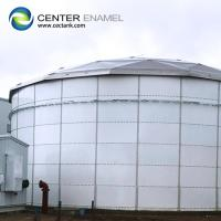 Quality 100000 / 100k Gallon Bolted Steel Dry Bulk Storage Tanks For Grain Storage for sale