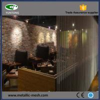 Quality Decorative metal curtain for room divider for sale