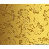 China Ti - Golden Stainless Steel Sheet Stainless Steel Backsplash Sheet For Wall Panel on sale