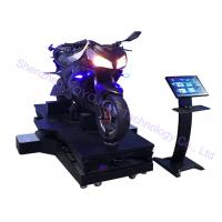 Quality Single Player 9D VR Motorcycle Racing Simulator 720 Degree 12 Months Warranty for sale