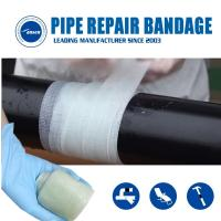 Quality Armored Cast Bandage Emergency Pipe Crack leaking Fix repair wrap  water activated fiberglass tape for sale