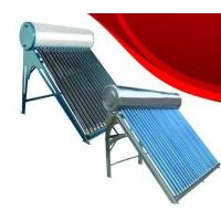 Buy cheap Color plate solar water heater ∮58×1800 ( red, blue, green ) from wholesalers