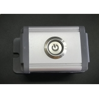 Quality 19mm PBT Ip67 Led 12v Illuminated Momentary Push Button Switch for sale