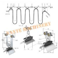 Quality Overhead Crane Cable Roller C Track Festoon System , Hoist Festoon Systems for sale