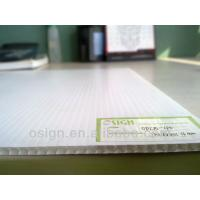 China Chinese good quality 4ft x 8ft size Core flute PP corrugated plastic Sheet on sale