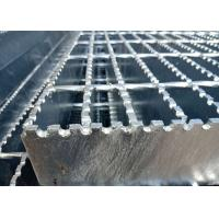 China Expanded Serrated Steel Grating , Steel Safety Grating For Ship Plate on sale
