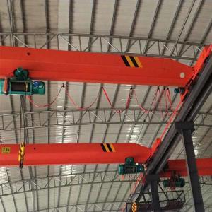 China Durable 3T 10ton Single Girder Overhead Crane with Electric Hoist on sale