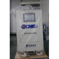 Quality Metallurgy Rotary Screw Vacuum Pump System , GSD120 Backing Pump 600 m³/h Dry Vacuum Pump for sale