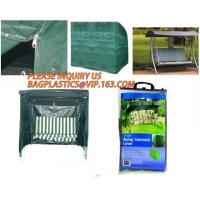 Quality WATERPROOF BENCH COVER, GARDEN FUNITURE COVER, PE GARDEN OUT FUNITURE SERIES, STACKABLE CHARIR COVER, LOUNGE, BBQ COVER for sale