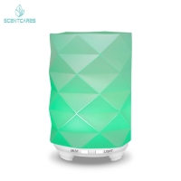 China 2.4MHZ Art Glass 12W Essential Oil Aroma Diffuser 100ml on sale