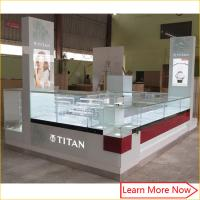 China bespoke retail store shop counter design /led glass jewelry display cabinet/mall jewelry kiosk on sale