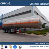 Quality tri-axle 40,500litres fuel tanker trailers for sales in Ghana for sale