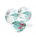 Quality Flamingo Accordion Style Paper Lanterns Craft Decorative Paper Lanterns for sale