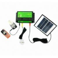 Quality portable solar system with LED light and phone charger for sale