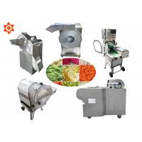 Quality Adjustable Thickness Vegetable Processor Machine Vegetable Slicer Dicer for sale