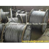 Quality FUX/FUH anti-twisting galvanized steel rope export for sale
