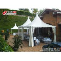 Long Life Span Clear Event Tent , Large Festival Tent For Wedding Party