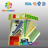 Quality Custom Printed Colorful Shrink Sleeve Labels Self Adhesive Paper Laminated Food Labels for sale